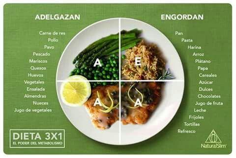 Dieta del plato para adelgazar