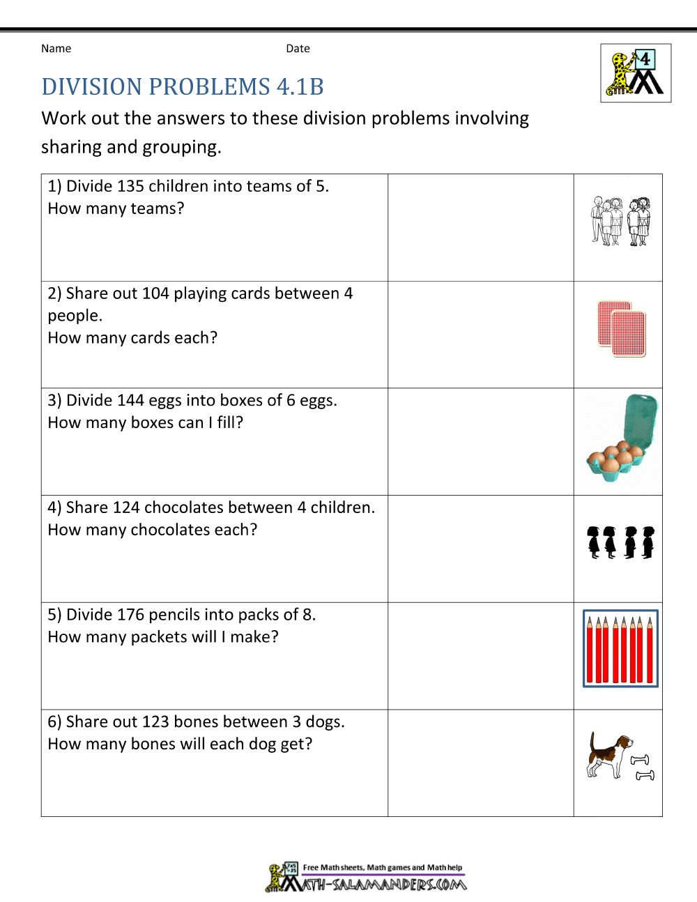 3 Division Questions For Grade 4 Worksheet Ideas 4th Grade Division Problems Maths Division Worksheets Grade 4 Division Worksheets Free Math Worksheets