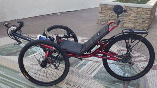 Kelly's Kandy Red Annihilator: Custom Catrike Annihilator V81 by Utah Trikes Custom from Utah Trikes #recumbent #trike #utahtrikes