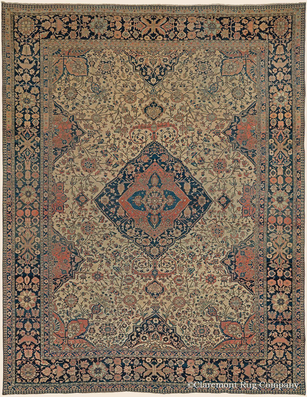 Motasham Kashan 10 4 X 13 3 2nd Quarter 19th Century Central Persian Antique Rug Claremont Rug Comp Rugs On Carpet Persian Rug Designs Carpet Fabric