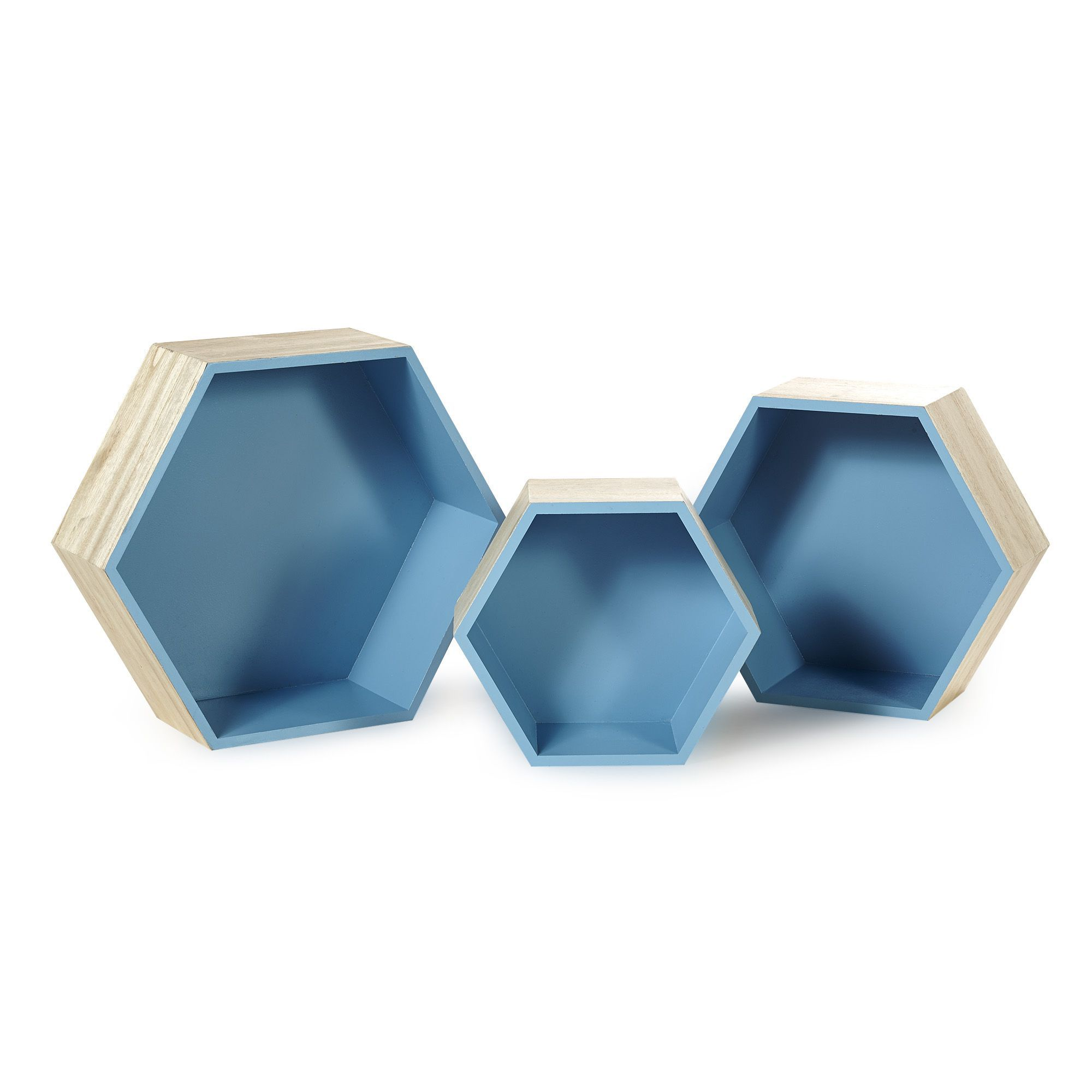 Etagere Hexagonale Grand Modele Rush Decoration Murale Affiches