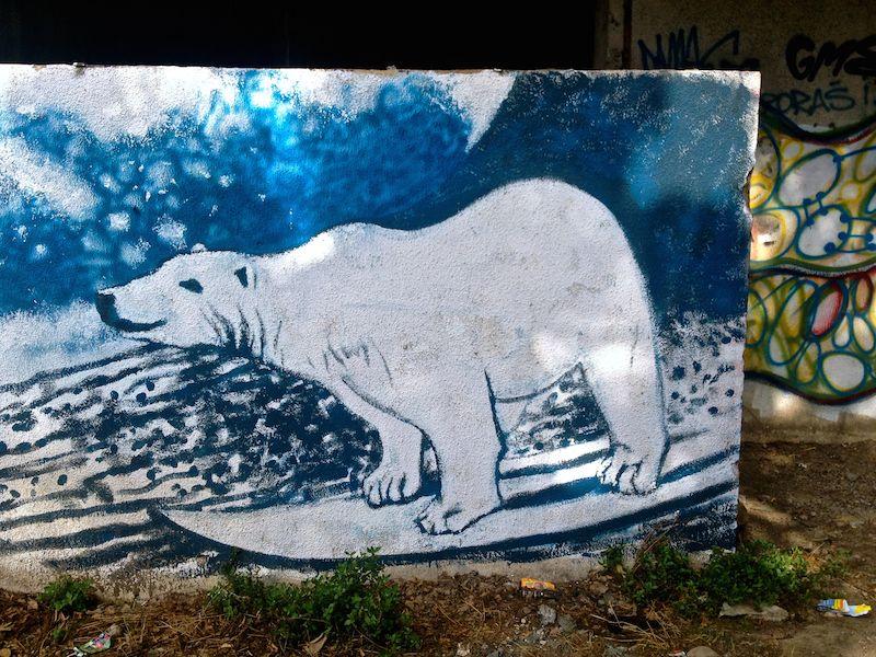 Street Art and Graffiti in Mostar, Bosnia.