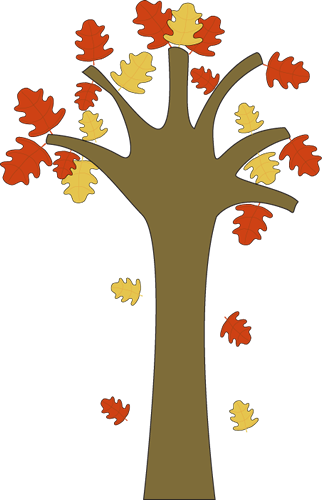 leaves falling from tree inspiration for my crafts pinterest rh pinterest com fall tree clipart fall tree clip art black and white