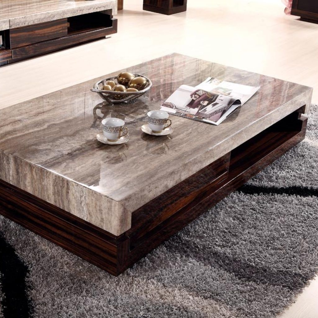 Gentil Ultra Low Profile Coffee Table