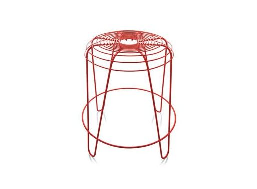 #Red #aTempoStool #TempoStool for #Alessi by #PaulineDeltour