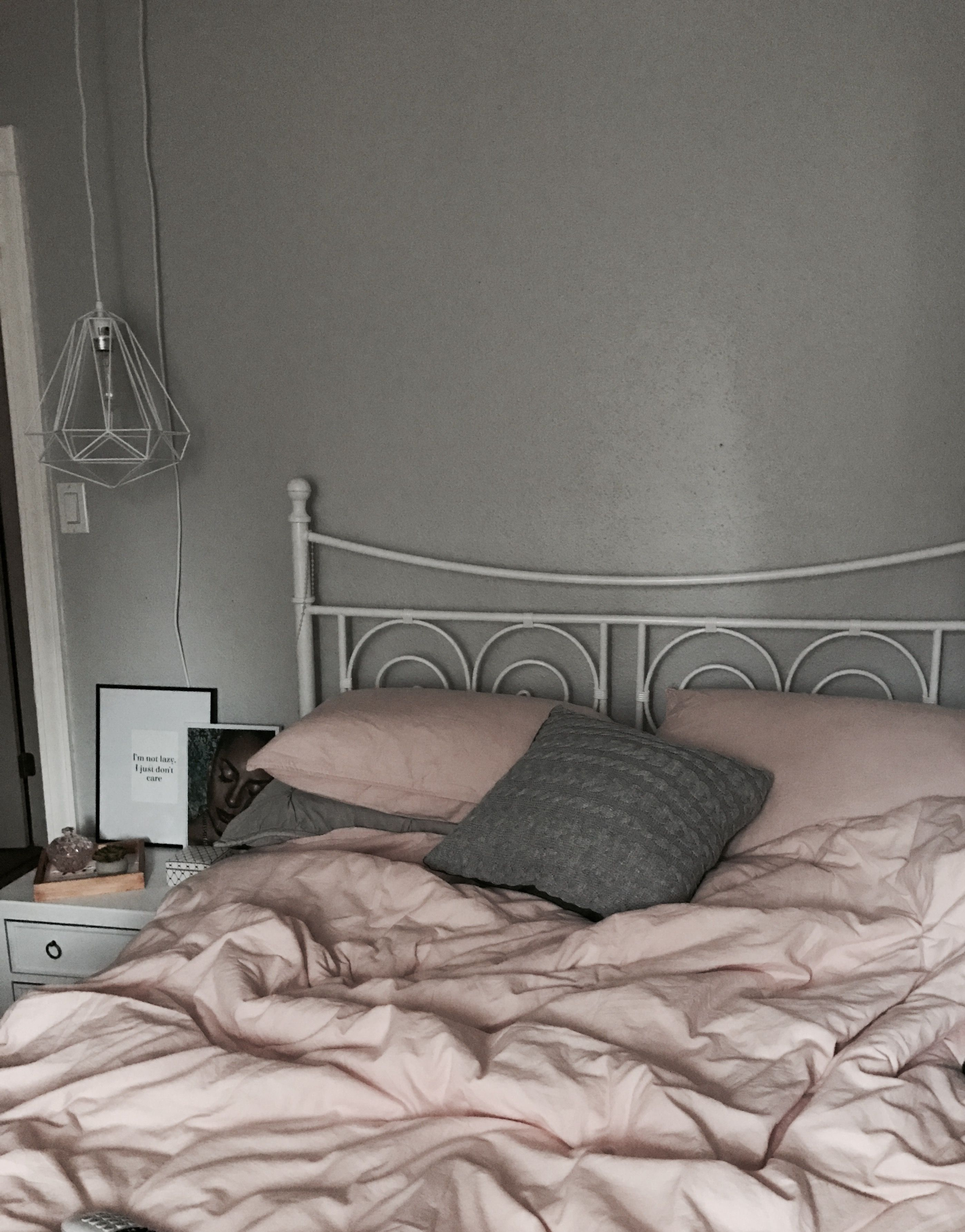 Dusty Pink And Grey Bedroom Pink Bedroom Decor Pink And Grey