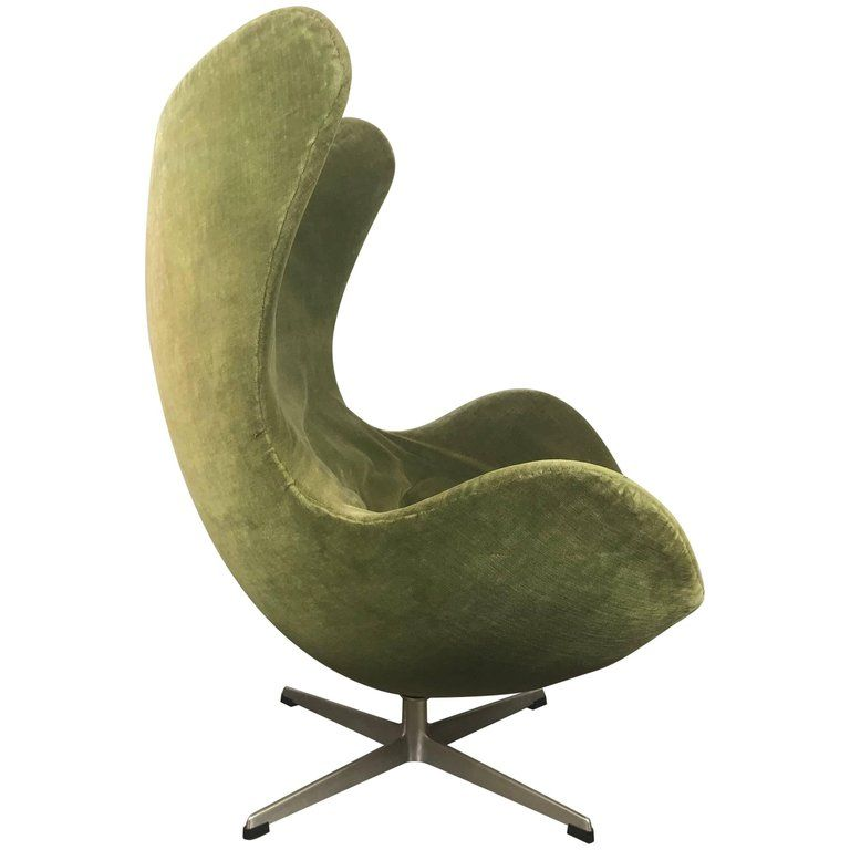 Early Original Egg Chair By Arne Jacobsen For Fritz Hansen Circa