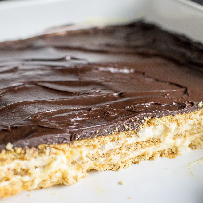 Chocolate Eclair Cake is fantastically delicious without being overly sweet. It's an easy make-ahead dessert with only 10 minutes of hands-on time, too!