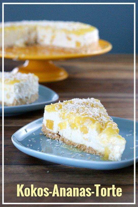 Kokos Ananas Torte Ananas Torte Ananas Kuchen Und Kuchen Und Torten