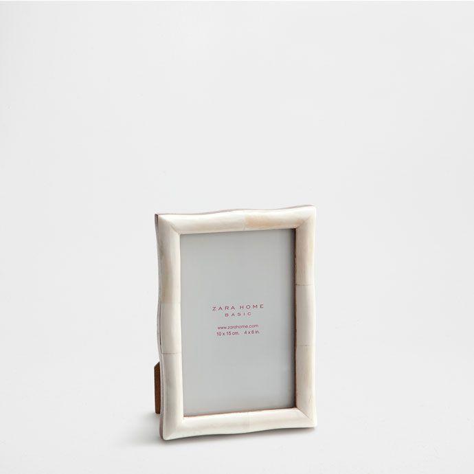 4b084ce35845 Zara Home New Collection. Bone shaped frame - Frames - Decoration