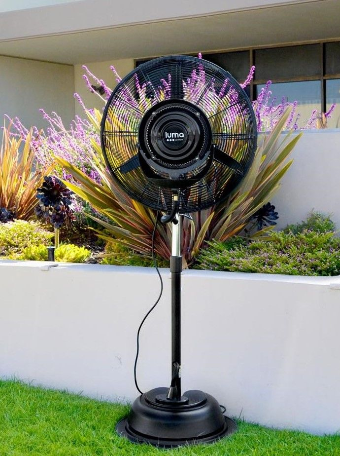 Keep You Patio Cool With This Outdoor Misting Fan It Covers 800