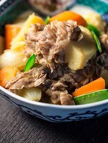 Japanese meat and potatoes (nikujaga) //Manbo