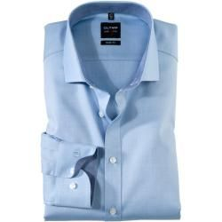 Photo of Olymp Level Five Shirt, body fit, Royal Kent, Bleu, 43 Olymp