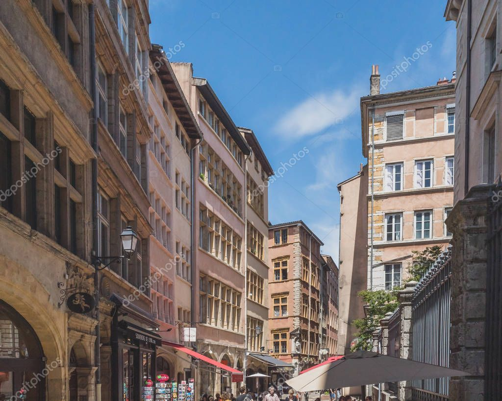 Street And Architecture In Old Lyon Stock Photo Sponsored Architecture Street Lyon Photo Ad Architecture Street Photo