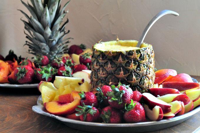 Fruit tray dip