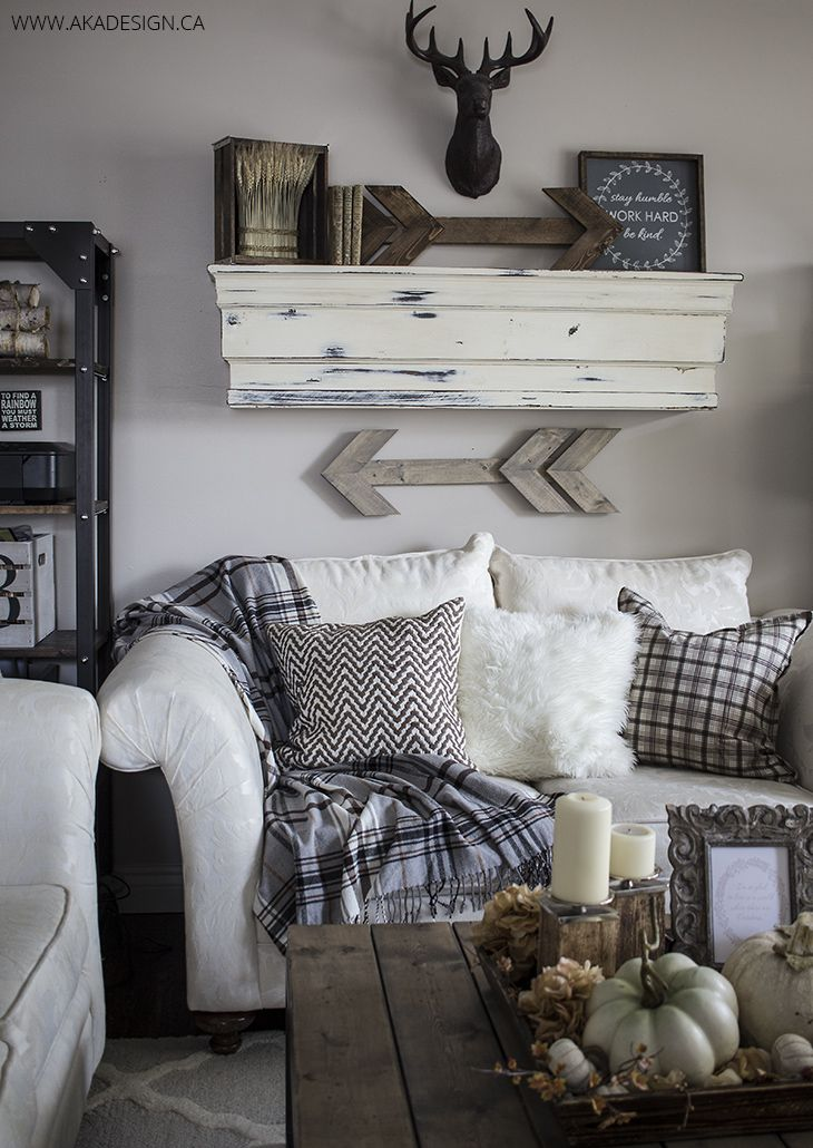 Rustic Wooden Arrows And Signs Williamraedesigns Living Room Decor Rustic Rustic Living Room Chic Home Decor