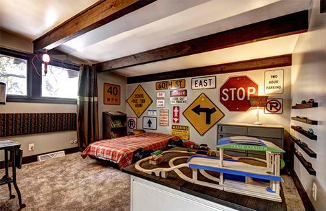 Zoom With Style In 20 Car Themed Bedroom For Your Boys Car Themed