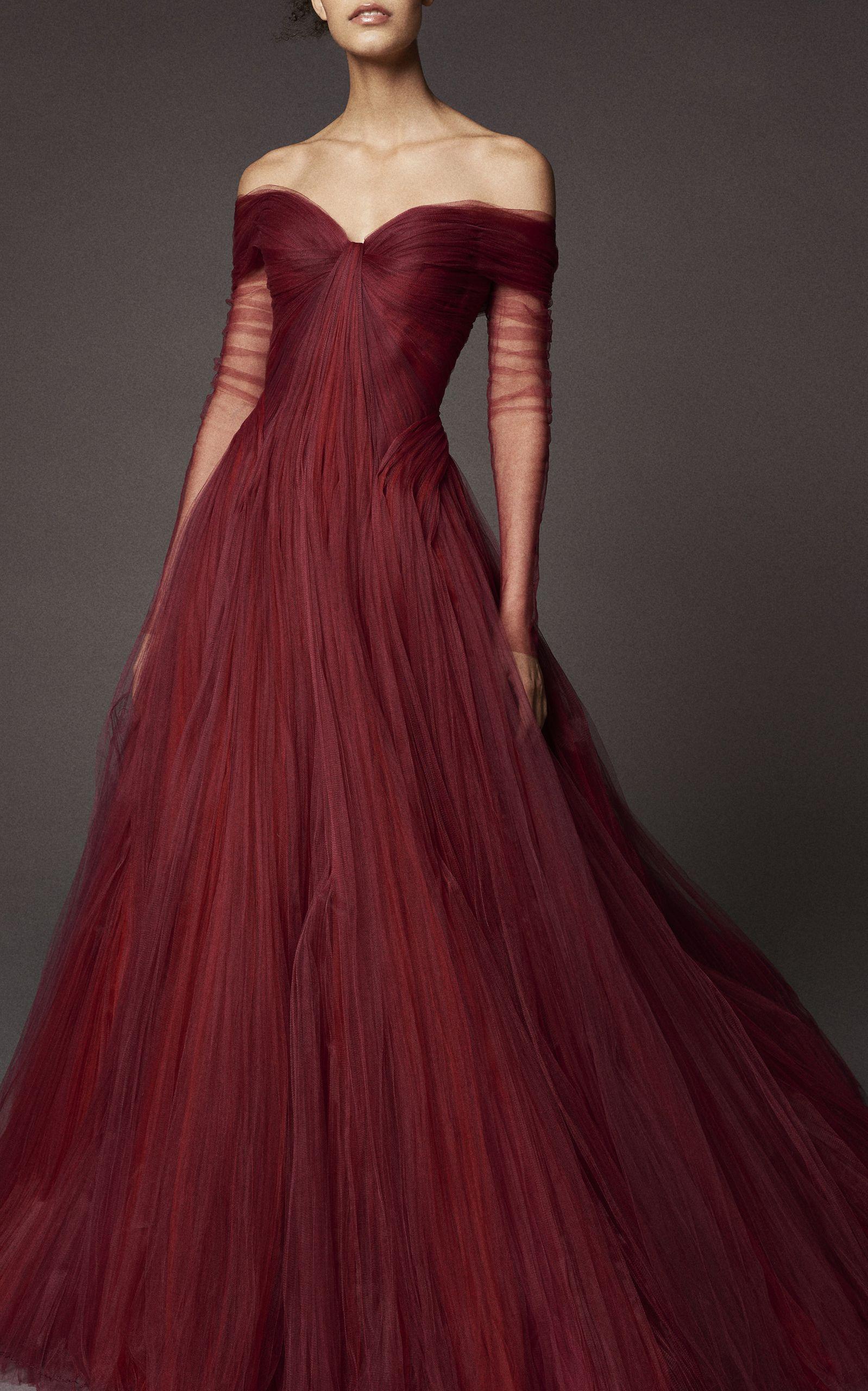Tulle Ball Gown by ZAC POSEN for Preorder on Moda Operandi | Women\'s ...