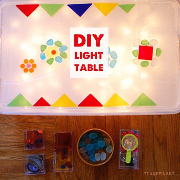 Homemade Easy Low Cost Light Table Light Table