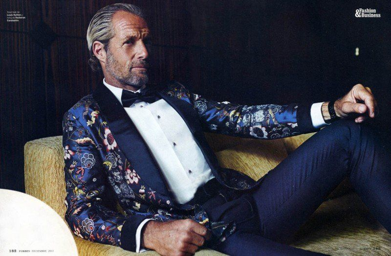 Pierre François Goes Sartorial for Forbes Spain