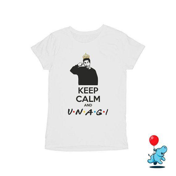 2b4a63c5 Keep calm and Unagi Friends Ross Geller unagi shirt unagi tshirt friends tv  show t shirt friends shi