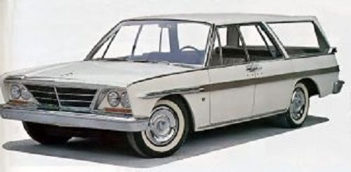 1953 Studebaker Wagon   LARK WAGONAIRE PROTOTYPE - 1962