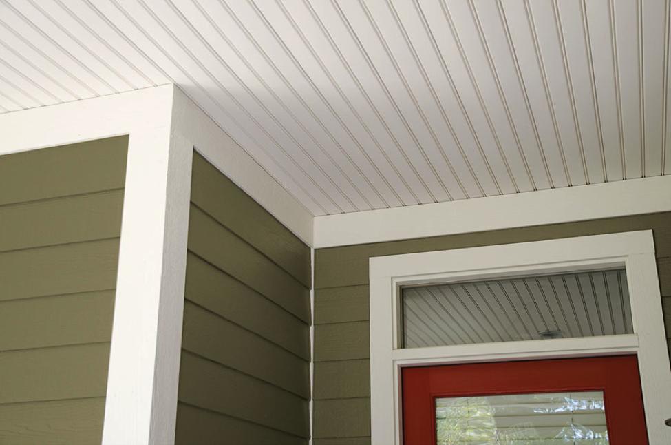 7 Fiber Cement Porch Ceiling Ideas Porch Ceiling Design