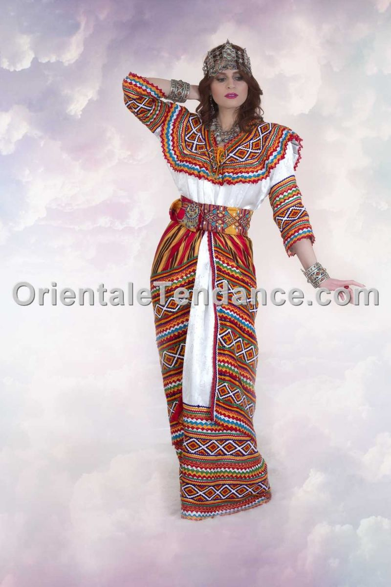 Robe kabyle iwadiyen traditionnelle