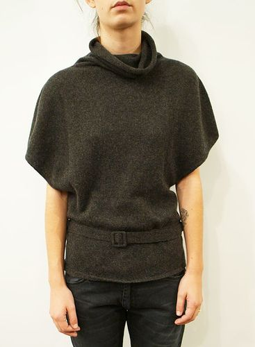 Roberto Collina Belted Cashmere Turtneck Sweater by Totokaelo, via Flickr