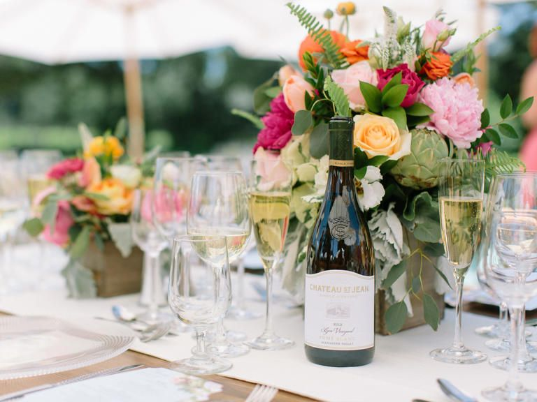 27 Photos To Obsess Over From The Knot Dream Wedding at Chateau St. Jean (Plus Video!) | Photo by: Jasmine Star Photography | TheKnot.com