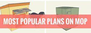 Most Popular Plans MyOutdoorPlans