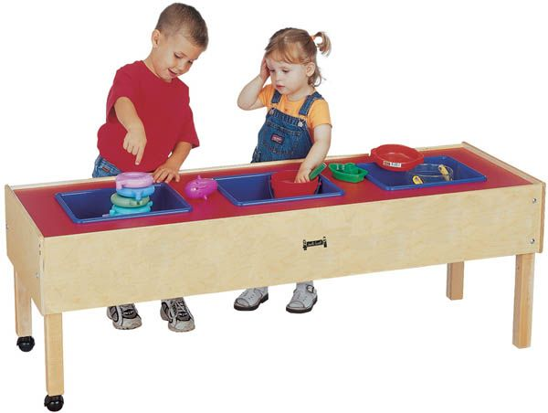 Jonti Craft 3 Tub Sensory Table Up To Off! Find Great Savings On Toddler  And Student Sensory Tables From Worthington Direct.