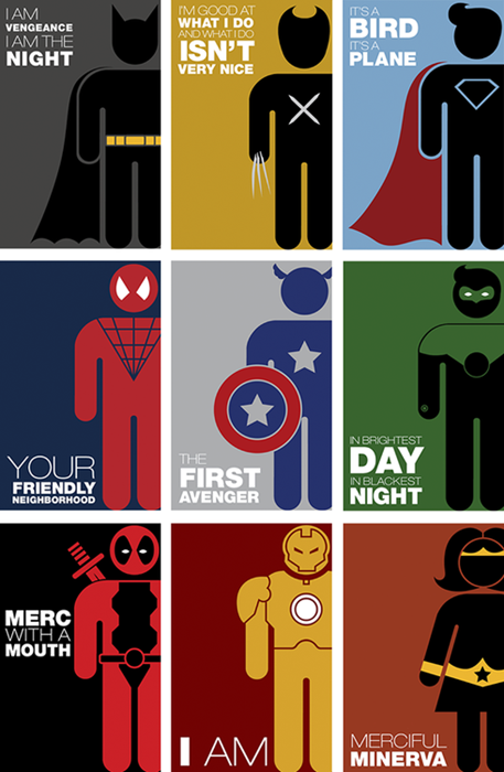 Superhero Pictograms Something To Marvel At Pinterest
