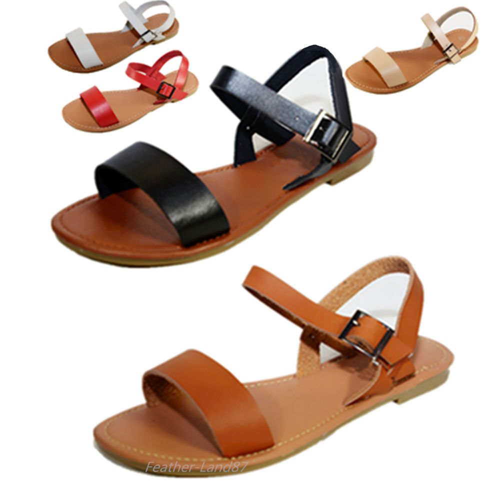 aa6cd1906ebd79 New Women Sandals Shoes Gladiator Thong Flops T Strap Flip Flat Strappy  205