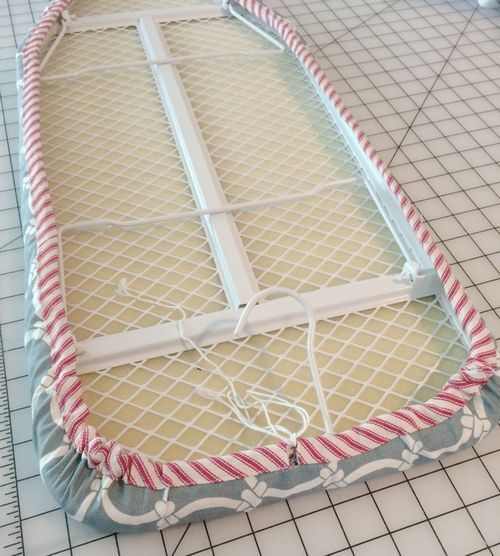A New Cover For My Mini Ironing Board Stop Staring And Start Sewing Mini Ironing Board Diy Ironing Board Covers Ironing Board Covers