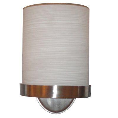 Allen Roth Merington 6 5 In W 1 Light Brushed Nickel