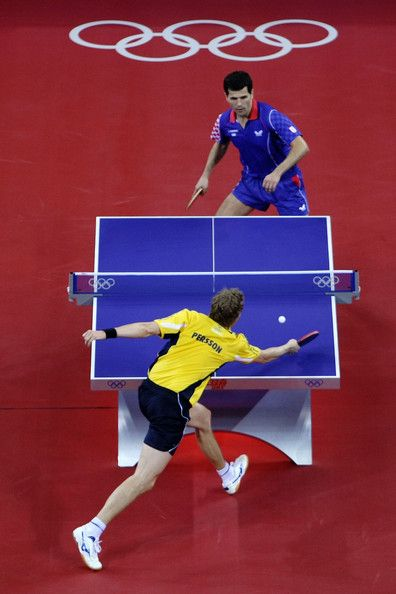 Jorgen Persson Photos Photos Olympics Day 14 Table Tennis Table Tennis Player Table Tennis Game Ping Pong