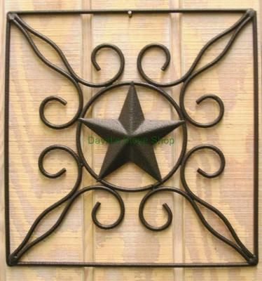 Texas Star Western Wall Decor Metal Art AC104 | A Place to Call Home ...