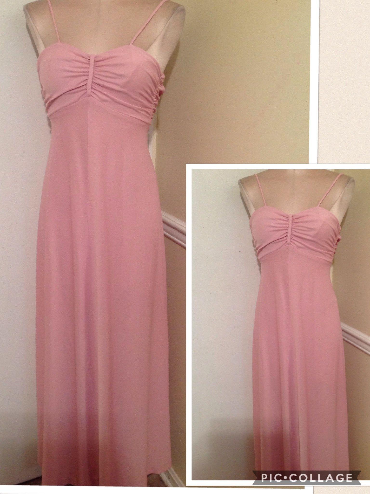 Vintage 1970s maxi dress 3/4