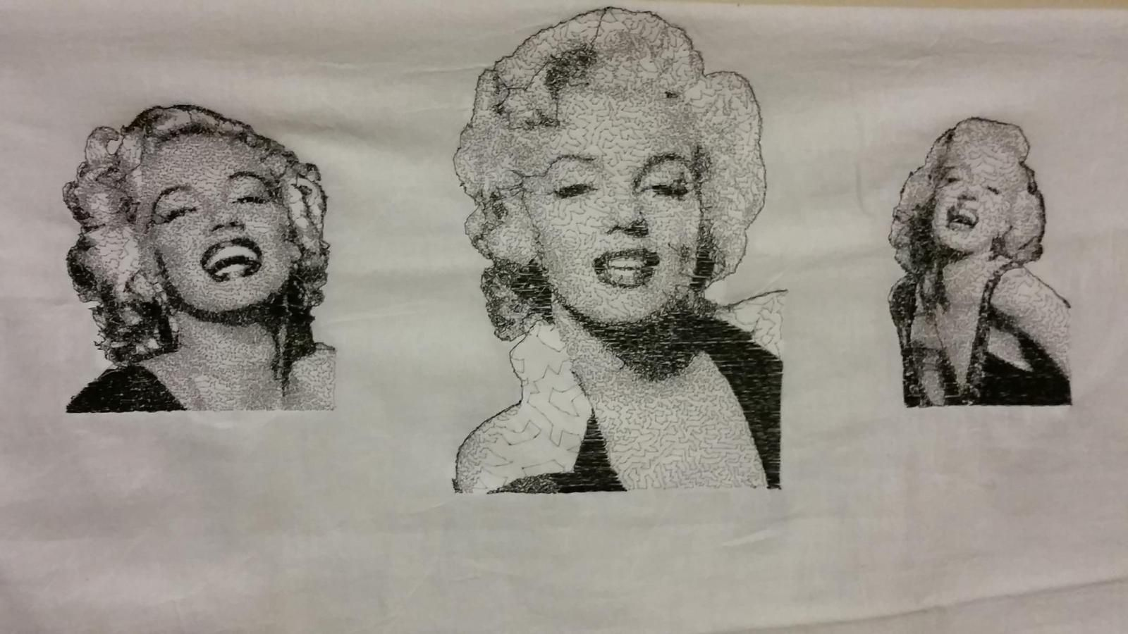 1Marilyn-Monroe embroidery patch