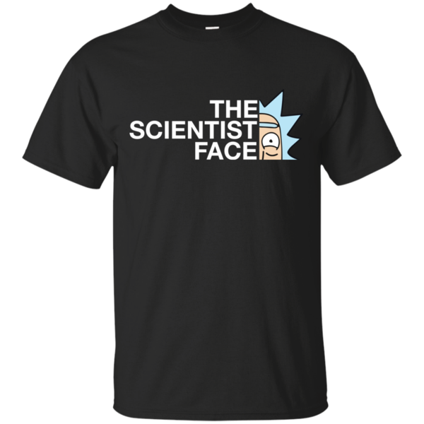 jakość bardzo tanie szalona cena Rick and Morty: The Scientist Face Rick Funny T-shirt ...