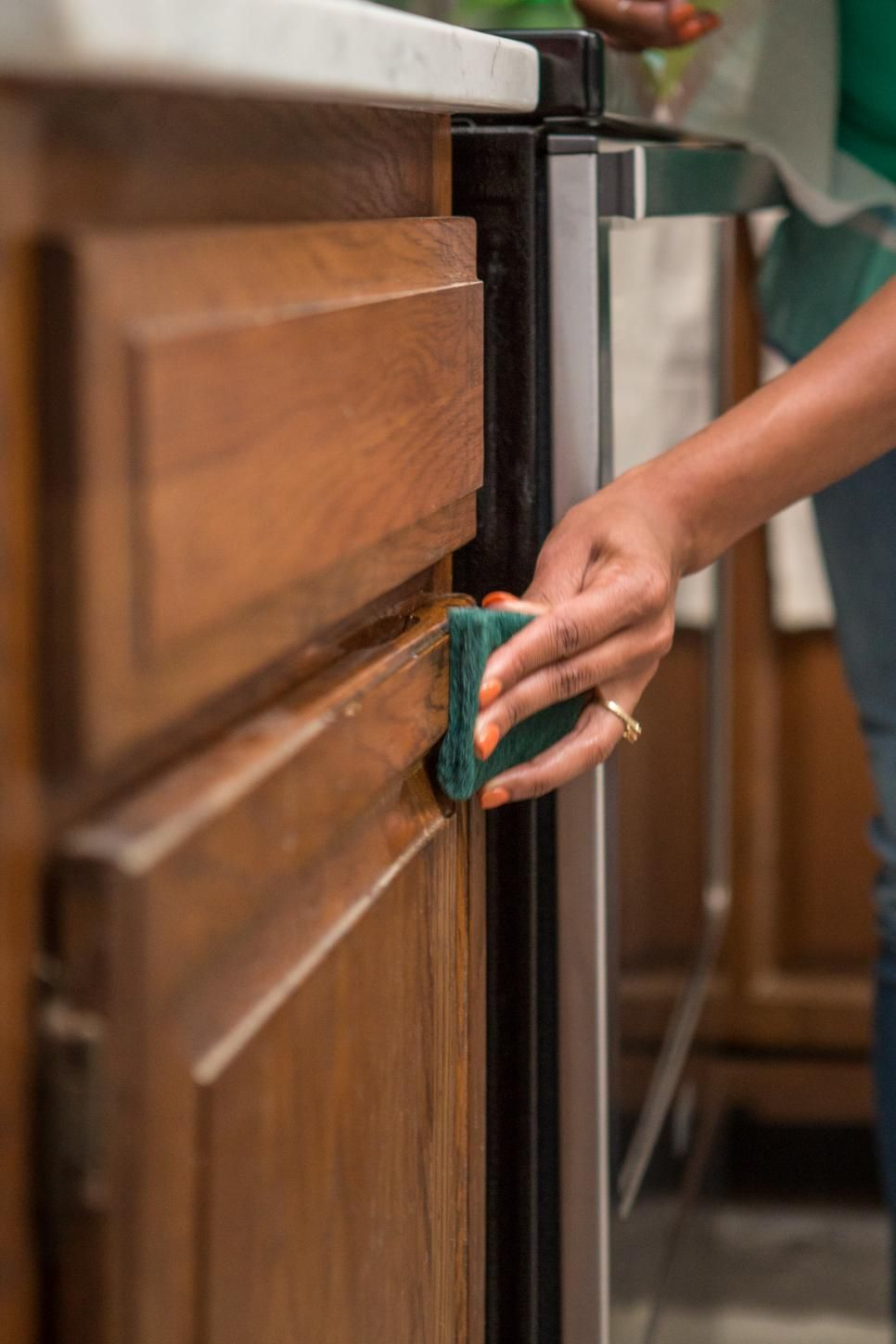 Darken Cabinets Without Stripping The Existing Finish Diy Furniture Home Improvement Projects Diy Home Improvement