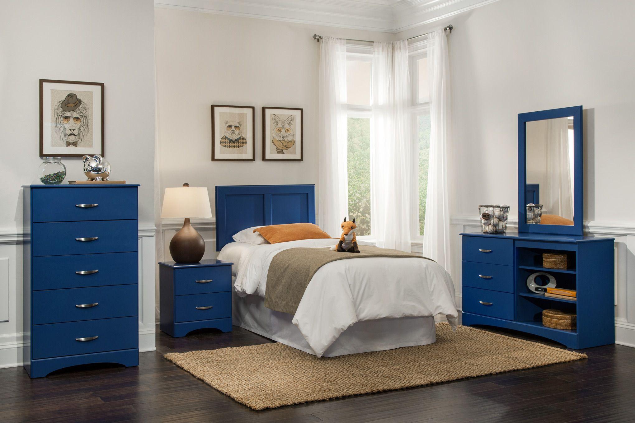 Kith Royal Blue Bedroom Set Blue Bedroom Furniture Blue Kids