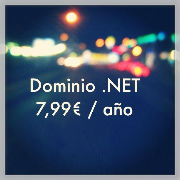 Oferta en dominios .NET