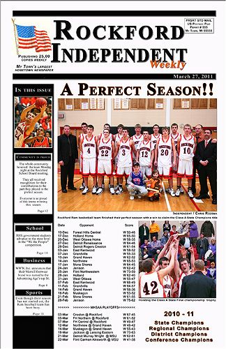 Front Page Newspaper Template Set  State Finals Posters