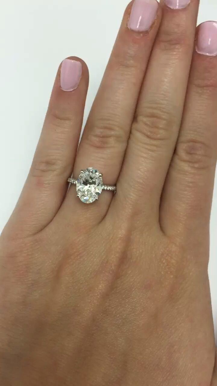 Find This Pin And More On Ring: Oval Engagement Rings