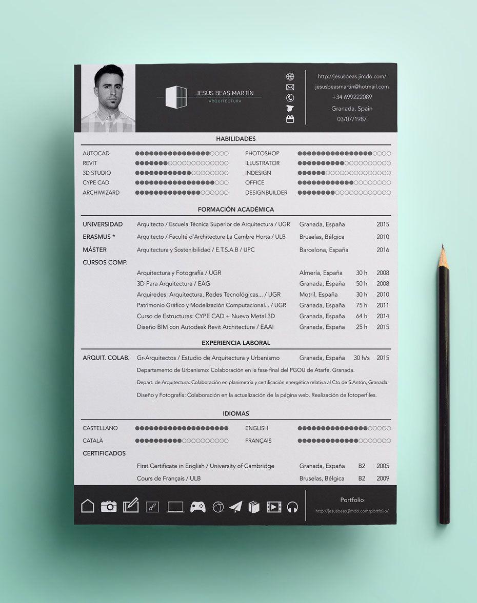 CV - Jesús Beas Martín / Arquitecto | Diseño | Pinterest ...