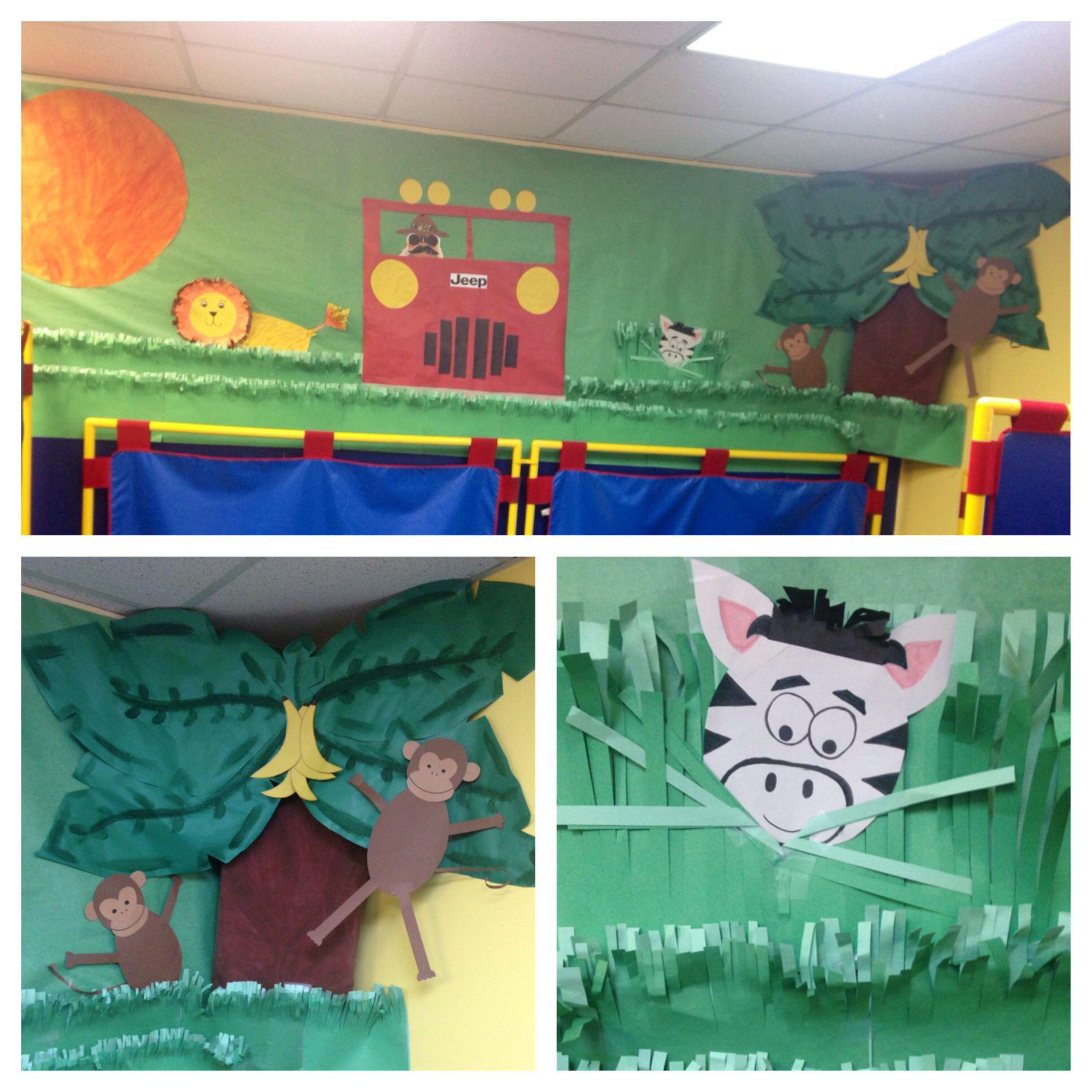 Safari Themed Classroom Decor
