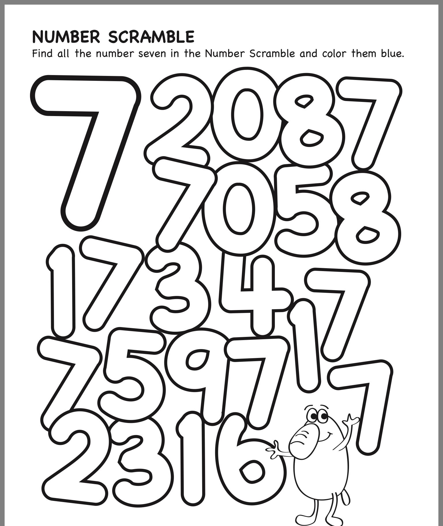 Pin By Is Ah Bel Lah On 7 Preschool Math Math Activities Preschool Numbers Preschool