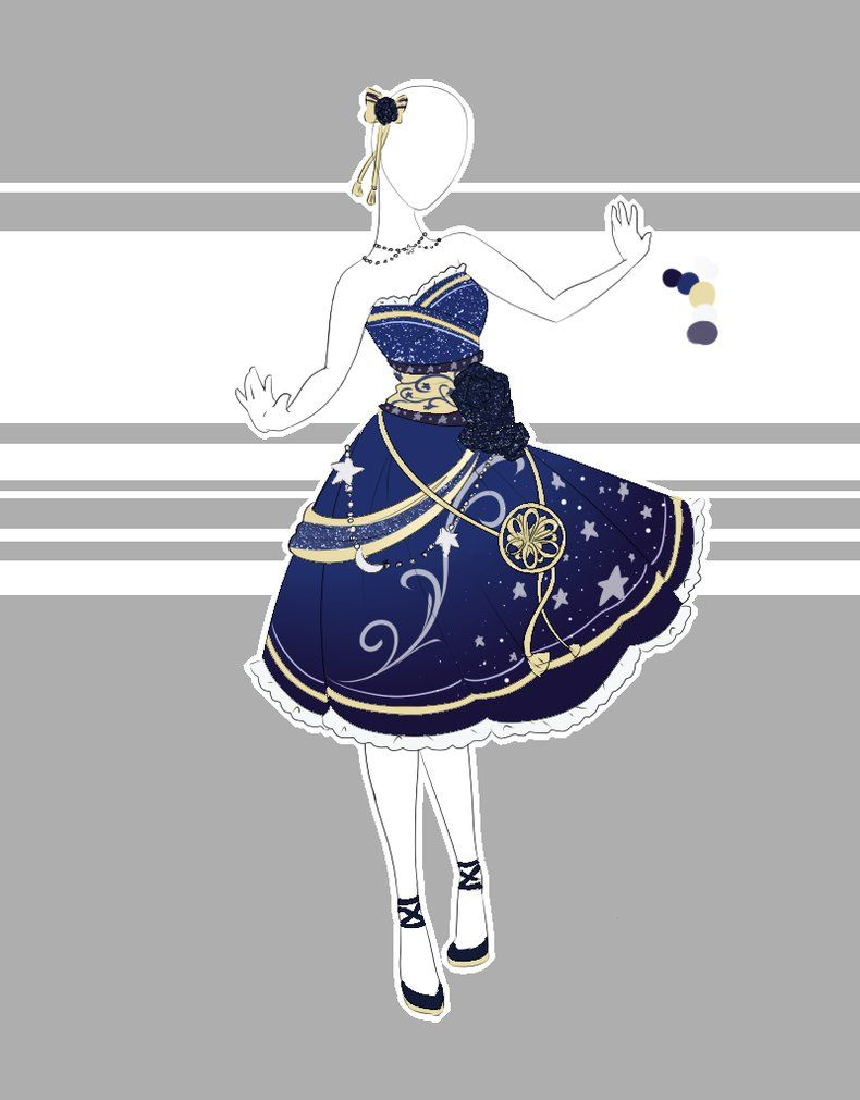 Commission 4 2015 Fashion Design Drawings Drawing Anime Clothes Fantasy Clothing